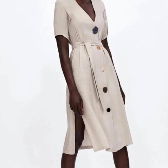 Zara Dresses & Skirts - Zara midi dress
